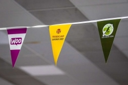 WordCamp_London_2017_sponsors_bunting